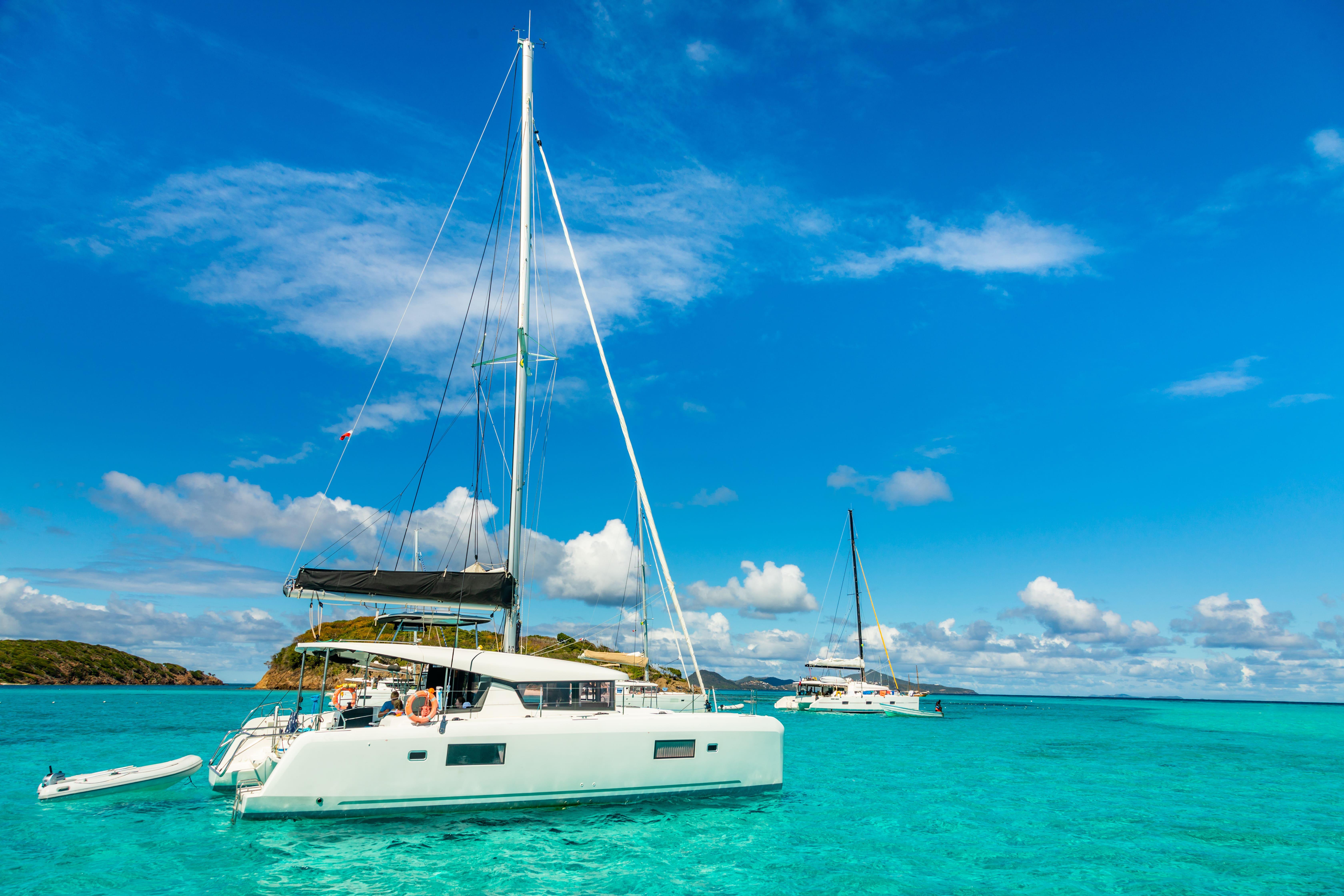 USVI Catamaran Charter with Captain
