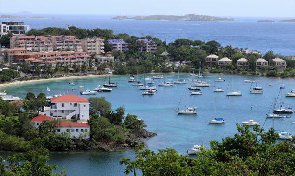 St Thomas sailboat vacation