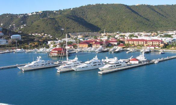St. Thomas sailboat vacation